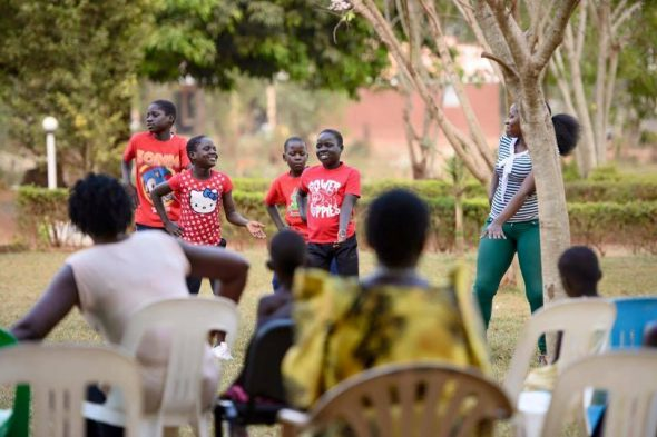 Barnehjem i Uganda